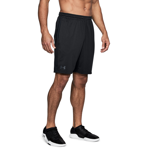 Under Armour MK1 Shorts - Men's Training - Black/Black/Stealth Grey 06434001