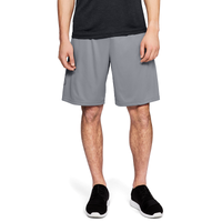 Under Armour Tech Graphic Football Shorts - Men's - Grey / Black