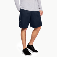 Under Armour Tech Graphic Football Shorts - Men's - Navy