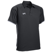 Under Armour Team Rival Polo - Men's - Black / White