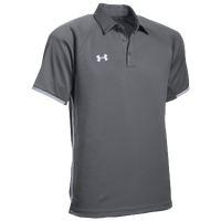 Under Armour Team Rival Polo - Men's - Grey / White