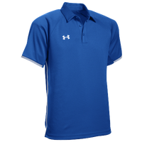 Under Armour Team Rival Polo - Men's - Blue / White