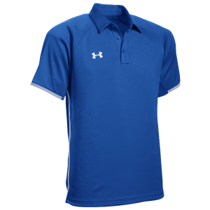 Under Armour Team Rival Polo - Men's - Royal/White