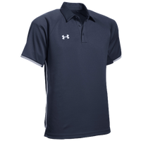 Under Armour Team Rival Polo - Men's - Navy / White