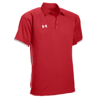 Under Armour Team Rival Polo - Men's - Red / White