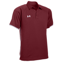 Under Armour Team Rival Polo - Men's - Cardinal / White