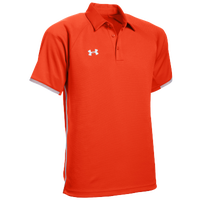 Under Armour Team Rival Polo - Men's - Orange / White
