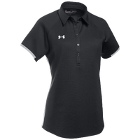 Under Armour Team Rival Polo - Women's - Black / White