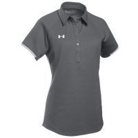 Under Armour Team Rival Polo - Women's - Grey / White