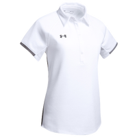 Under Armour Team Rival Polo - Women's - White / Grey