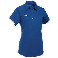 Under Armour Team Rival Polo - Women's - Blue / White