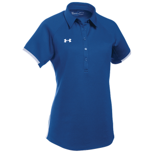 Under Armour Team Rival Polo - Women's - Royal/White