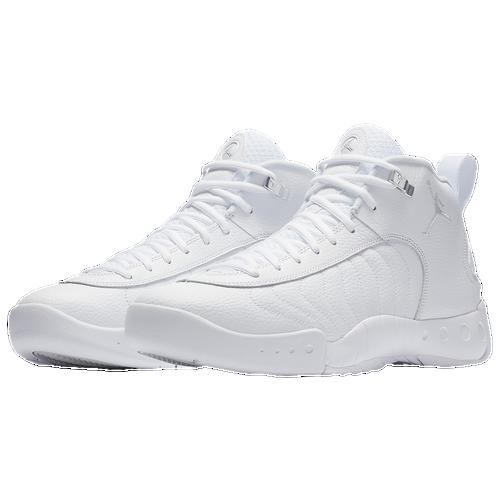 Jordan Jumpman Pro - Men's - White / Silver