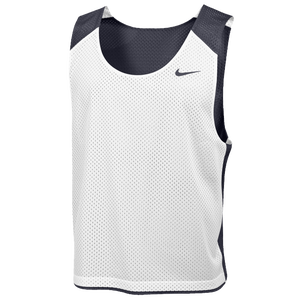 Nike Team Reversible Lacrosse Mesh Tank - Men's - Team Anthracite/White/Team Anthracite