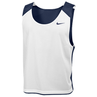 Nike Team Reversible Lacrosse Mesh Tank - Men's - Navy / White