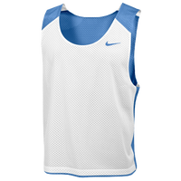 Nike Team Reversible Lacrosse Mesh Tank - Men's - Light Blue / White