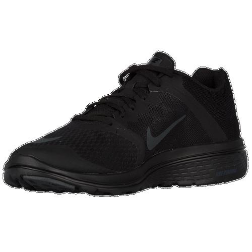 Nike FS Lite Run 3 Men's Black/Anthracite Running Shoes Size 8 New
