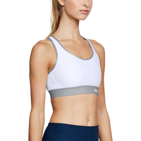 Under Armour Armour Mid Keyhole Bra - Women's - White