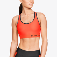 Under Armour Armour Mid Keyhole Bra - Women's - Orange