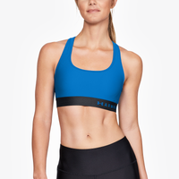Under Armour Armour Mid Crossback Bra - Women's - Blue