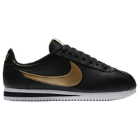 Nike Cortez Womens Black And Gold