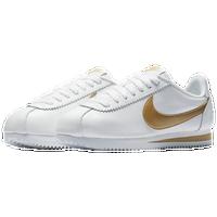 Nike Classic Cortez - Women's - White / Gold