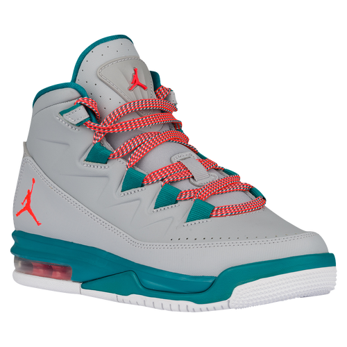 ... Jordan Air Deluxe - Girls Grade School - Casual - Shoes - Wolf  GreyBright CrimsonRadiant Emerald ... 818d8bdf1