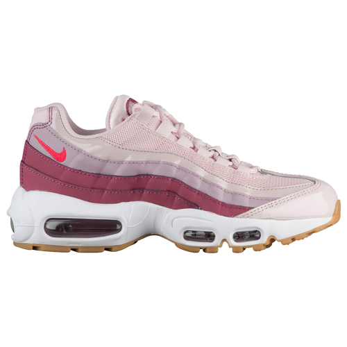 13d1a65c38ee Nike Air Max 95 - Women s - Casual - Shoes - Barely Rose Hot Punch Vintage  Wine White Rose
