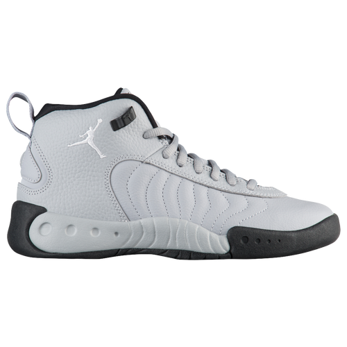 Jordan Jumpman Pro - Boys' Grade School - Grey / White
