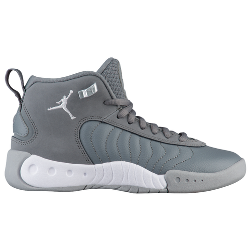 Jordan Jumpman Pro - Boys' Grade School - Grey / White
