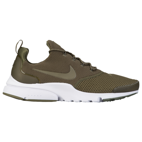 Nike Presto Fly - Men's - Casual - Shoes - Medium Olive/Medium Olive/White