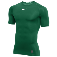 Nike Pro Short Sleeve Compression Top - Men's - Green