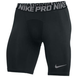 Nike Team Pro Shorts - Men's - Black/Cool Grey