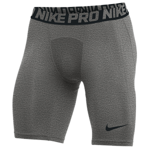 Nike Team Pro Shorts - Men's - Carbon Heather/Black/N/A