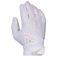 adidas adiFAST 2.0 Receiver Gloves - Boys' Grade School - All White / White