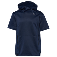 Nike Team Authentic Therma S/S Top - Men's - Navy / Black