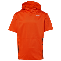 Nike Team Authentic Therma S/S Top - Men's - Orange / Black