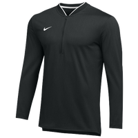 Nike Team Authentic 1/2 Zip Coaches Top - Men's - Black / White