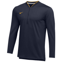 Nike Team Authentic 1/2 Zip Coaches Top - Men's - Navy / Gold