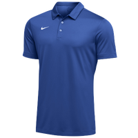 Nike Team S/S Polo - Men's - Blue / White