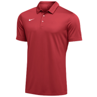 Nike Team S/S Polo - Men's - Red / White
