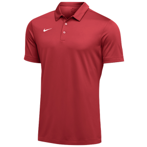 Nike Team S/S Polo - Men's - University Red/White