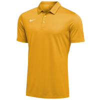 Nike Team S/S Polo - Men's - Gold / White