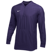 Nike Team Authentic Lockdown Jacket - Men's - Purple / White