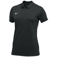 Nike Team S/S Polo - Women's - Black / White