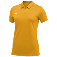 Nike Team S/S Polo - Women's - Gold / White
