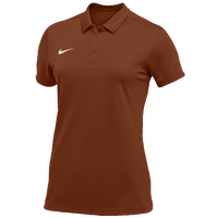 Nike Team S/S Polo - Women's - Orange / White