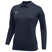 Nike Team L/S Polo - Women's - Navy
