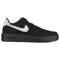 nike air force 1 flyknit black mens