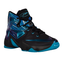 more photos d1b6b 6b892 Nike LeBron XIII - Boys  Grade School - Black   Light Blue